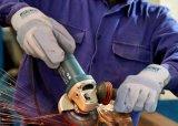 Установите противоскользящие Abrasion-Resistant безопасность работы связано с упора для рук из натуральной кожи крупного рогатого скота