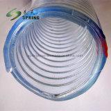 Slang van de Pijp van de Irrigatie van het Water van de Zuiging van de Draad van het Staal van pvc de Plastic