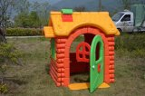 Campo de jogos interno da corrediça plástica plástica do brinquedo para miúdos