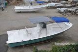 Barco del Panga del barco de pesca de Fiberlgass del barco de pesca 80HP de Liya los 7.6m