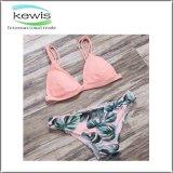 Swimsuit белого черного края цвета Curvy для пляжа