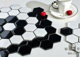 Плитка мозаики горячего сота сбывания 23*23mm шестиугольная белая керамическая для украшения