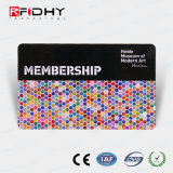 Precio de fábrica PVC RFID Tarjeta de Miembro de la muestra de plástico