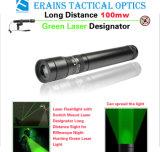 Désignateur laser de la distance 100mw/vue verts neufs (ES-G25-H)