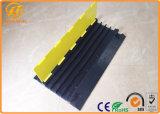 Alta calidad que recicla el protector de goma del cable de 4 canales