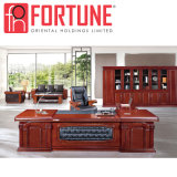 Luxo madeira moderno conjunto de mesa do escritório para uso em escritório da empresa (FOH-A8A261)