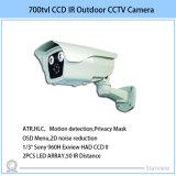 700tvl LEDのアレイIRの弾丸CCTVの機密保護CCDのカメラ