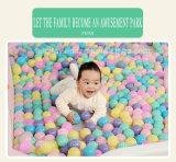 Бассеин шариков океана игры спортивной площадки младенца крытый мягкой Splayed домом, игрушка малыша