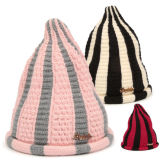 Mode d'hiver de différentes couleurs personnalisées Beanie Hat