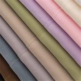 Good Design Poliéster lençóis de cama branca Conjuntos de folhas