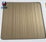 De matte Bladen van de Kleur van het Roestvrij staal van de anti-Vingerafdruk