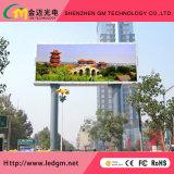 Alto brilho P6 (P8 P10mm) LED fixo exterior da parede de vídeo para a Publicidade