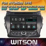 Hyundai IX45 2013년 산타페이를 위한 Witson Windows Radio Stereo DVD Player 2013년