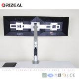 Gasdruckdämpfer-Höhen-justierbarer Doppelcomputer-Monitor-Arm (OZ-OMM046A)
