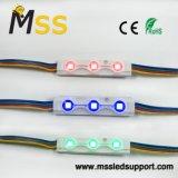 3LEDs modulo dell'iniezione di Alto-Luminosità 0.72W W/RGB SMD5050LED per la pubblicità la lettera della casella chiara/Manica del contrassegno/lettera del metallo con 3 anni di garanzia