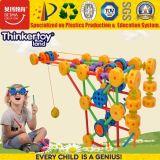 Brinquedos educacionais plásticos da maquinaria do bebê