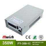 350W 15V23.2A Wechselstrom Stromversorgung zur Gleichstrom-IP44 SMPS LED