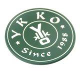 Cheap OEM personnalisée en usine Direct Starbucks PVC Souple Coaster