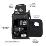 専門DSLRのケースの携帯用バックパックのカメラ袋のバックパック
