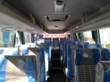 高品質の10m 40-45のシートの観光事業バスコーチ