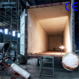 シンセンSindeice省エネ20tは氷プラント薄片の製氷機をコンテナに詰めた