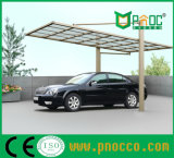 Из поликарбоната Carports Aluminuim рамы в плавании на заводе для продажи (133PCT)