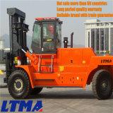 高品質のLtmaの大きい国の重い35tディーゼルフォークリフト