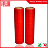 赤いストレッチ・フィルム100%純粋なLLDPEの物質的な覆いのフィルム