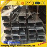 6061 6063 profils en aluminium de mur rideau d'alliage d'aluminium