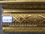 13cm PS 처마 장식을 주조하는 황금 최신 판매인 거품