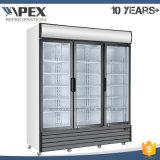 Refroidisseur droit de porte triple de la charnière 1500 avec le refroidissement dynamique