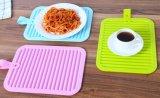 Кухня Non-Slip пищевых сортов используйте силиконовый термостойкий складные портативные коврик Коврик для сушки наружного кольца подшипника
