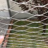 Сплетенная ячеистая сеть веревочки красивейшая украшает после того как она использована для украшает