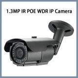 1.3MP IP Poe WDR IRL de OpenluchtCamera van de Veiligheid van kabeltelevisie van de Kogel