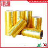 Band starkes anhaftendes wasserdichtes gelbliches des BOPP Verpackungs-Band-Acrylgelb-BOPP