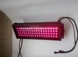 IP65 ao ar livre Waterproof 72*3W a luz da lavagem da parede da inundação do diodo emissor de luz do diodo emissor de luz RGB