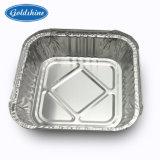 Contenitore a gettare F58085 di alimento del di alluminio
