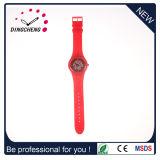 Nouveau Style Japon cadran d'impression de silicium de quartz montres OEM / ODM Watch