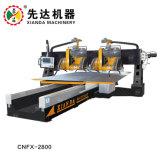 La creación de perfiles del estativo Four-Blades CNC máquina lineal de Mármol y Granito