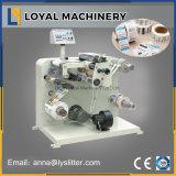 Pequeña máquina de Rewinder de la cortadora del rodillo de la alta precisión 320 para la escritura de la etiqueta de papel