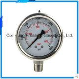 304 indicateurs de pression d'acier inoxydable/mètres résistants aux vibrations