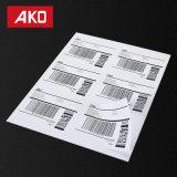 Стикеры Barcode стикеров собственной личности слипчивые легкие для того чтобы напечатать или слезть