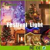 Non-Dimmable C7 E12 LED rojo Bombilla LED 1W la noche las luces de Navidad