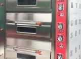 Equipamento de padaria Astar nova série B da coroa do HGB-306q 3 Deck 6 bandejas forno para assar eléctrico