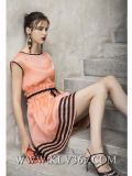 Горячие платья способа сбывания конструируют платье сексуальных женщин партии лета безрукавный