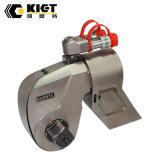 Chave de torque hidráulica de aço da movimentação quadrada de projeto compato