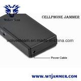전화를 거십시오 더 이상 소형 셀룰라 전화 신호 방해기 (GSM DCS CDMA 3G)를