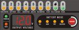 12V 15A schließen Hochfrequenzautobatterie-Aufladeeinheit mit Rückseite Mec1215 an