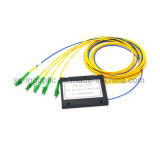 1X4 LC/APC Fiber Optic ABS Box PLC Splitter