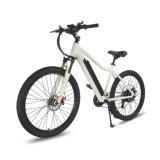 "Bici di montagna elettrica di colore bianco 27.5 """